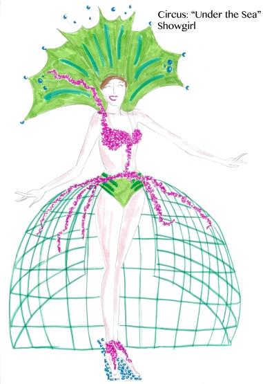 Circus-Showgirl