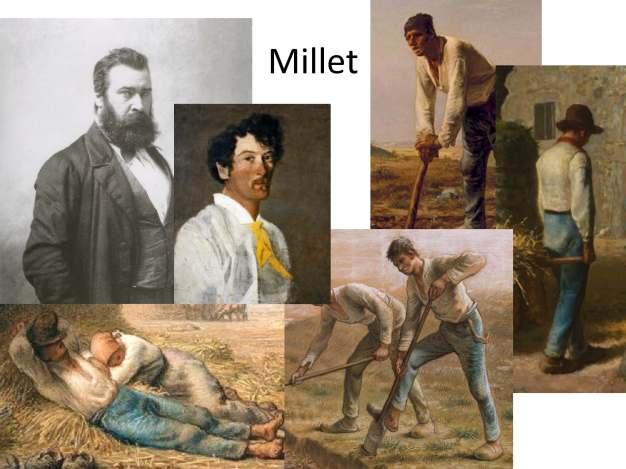 Millet collage