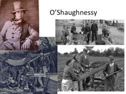 O'Shaughnessy